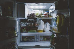 food in the fridge