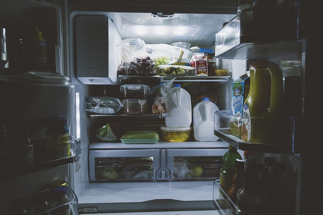 food in the fridge in Toronto